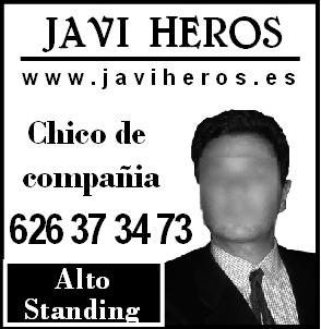 Male Escort in Sevilla: Javi Heros